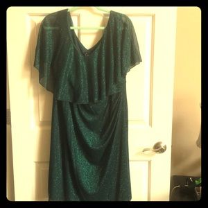 Green Mermaid, formal Formal Dress with sparkles